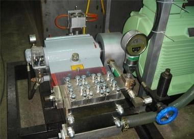 高压往复泵运转中注意事项