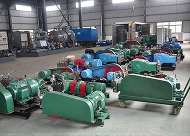 高压泵工作中全过程和管道清洁