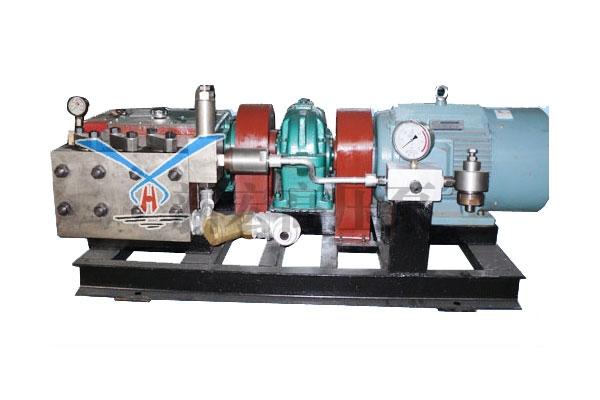 3QP1-2减速机传动试压泵
