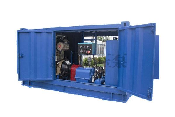 3QP3型高压试压泵、清洗机组