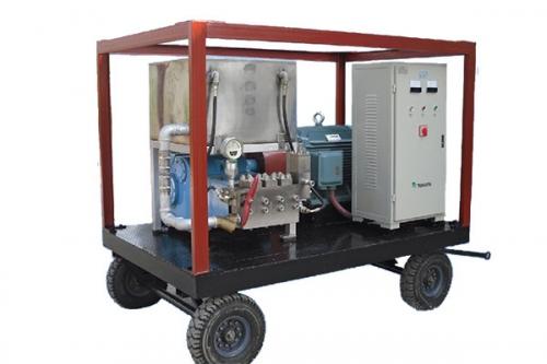 3QP移动式高压清洗泵机组